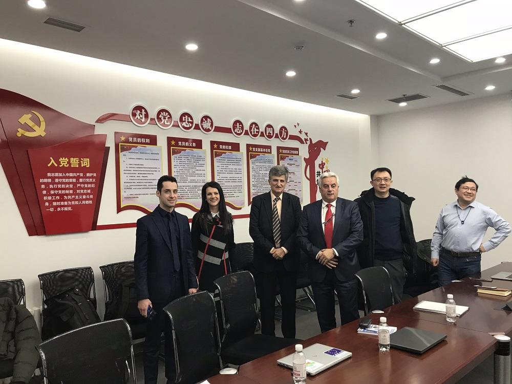 Екипът ни беше на официално посещение при нашите партньори от китайската компания CRRC QINGDAO SIFANG CO., LTD