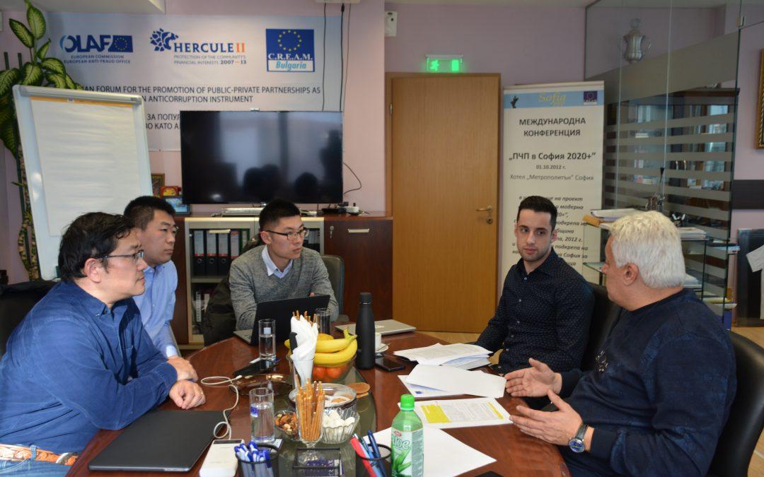 Официално посещение от CRRC Qingdao Sifang Co., Ltd.